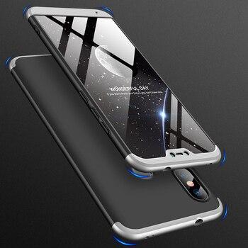 Перейти на Алиэкспресс и купить Чехол с полным покрытием на 360 градусов для Xiaomi Redmi Note 8T 8A 7A Pro 6A S2 GO 5 Plus 9 SE 4X A1 A2 Lite A3 Mi 9T, черные чехлы Shark 3