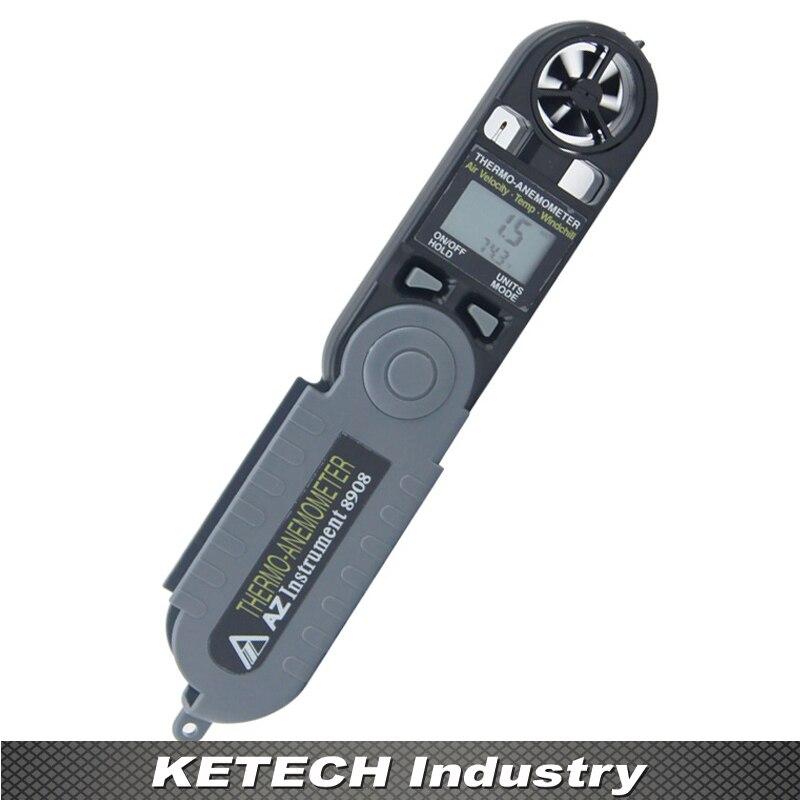 AZ-8908 Mini Windspeed Meter Anemograph Anemometer Meter