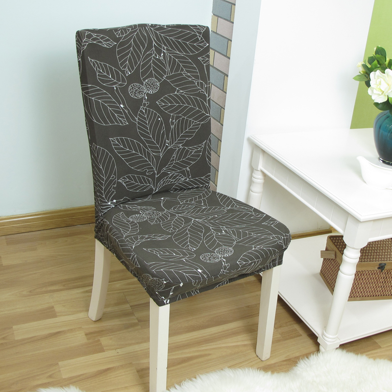 Spandex Elastic Chair Cover Removable Stretch Floral Print