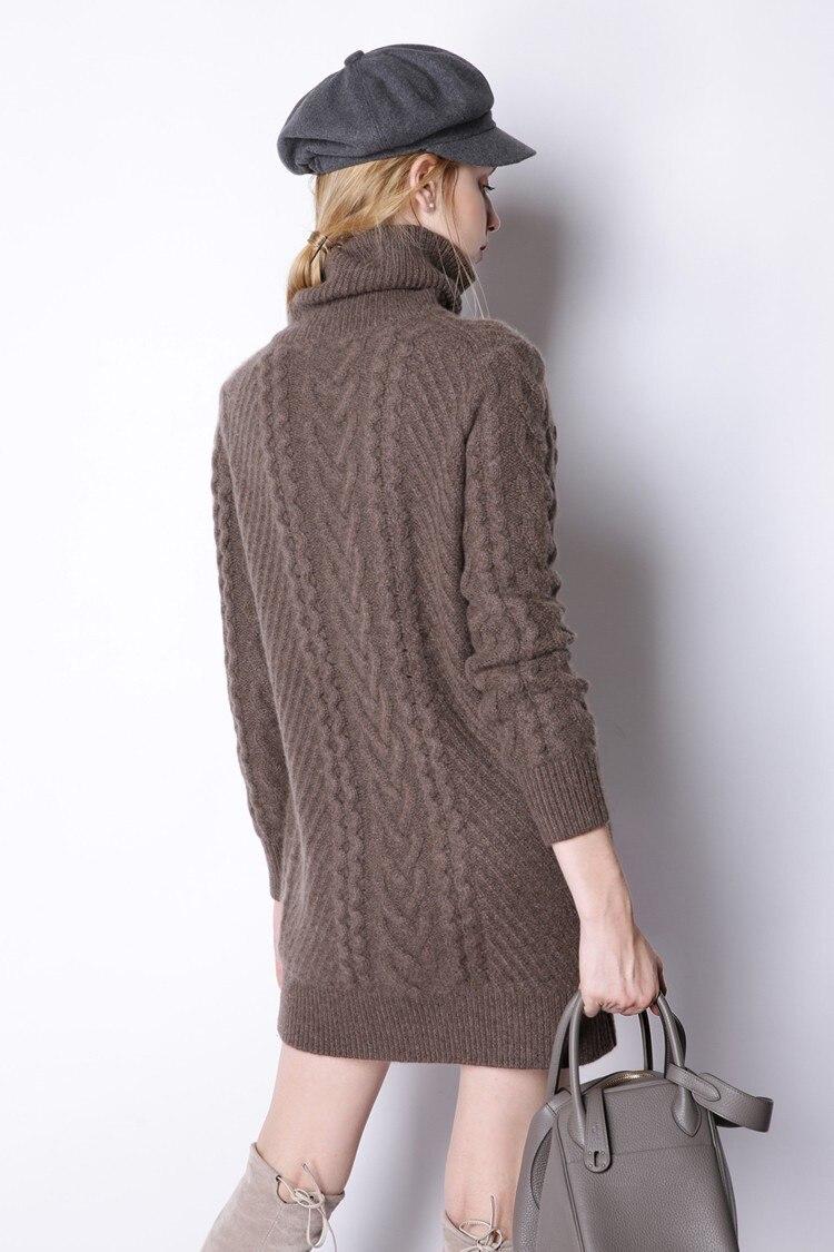 Long Femmes Pull marron gris bourgogne Noir xPAPwqdZ