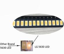 Flood Light LED Chip Original LG 5630SMD LED CRI>80 Max Current 200ma 3V   2700K For LED Light