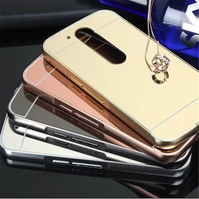 low priced 4b2fd be061 US $2.99  Rose Gold Luxury Bling Mirror Cover Fashion Flexible Case For  Moto G4 Plus G4 on Aliexpress.com   Alibaba Group
