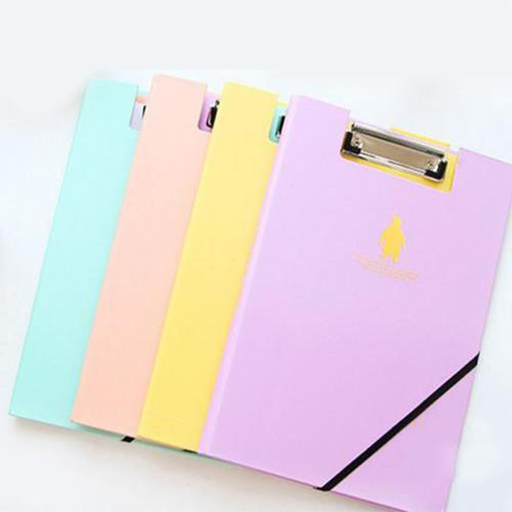 1PCS Cute Animal Documents Clip File Folder Paper Storage A4 Office Accessories Office School Supplies