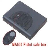 Оптовая продажа MA500 отпечатков пальцев Сейф ключ пистолет Vault шкатулка кабель Портативный горячее предложение Творческий лучший подарок