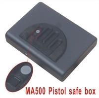 Wholesale MA500 Biometric Fingerprint Safe Box Key Gun Vault Jewelry Box Cable Portable Hot New Creative best gift