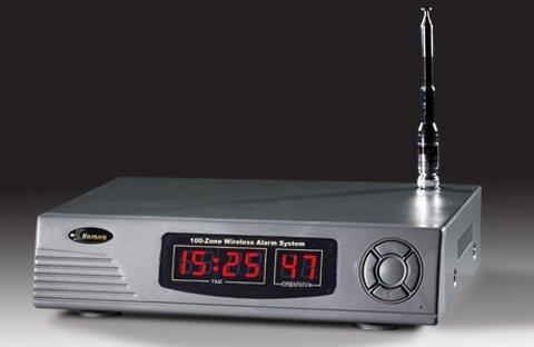 100 defense zones wireless guard signalling system Karassn manufacturer security service Wireless fire alarm system