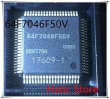 10pcs/lot HD64F7046F50V 64F7046F50V QFP-80 IC