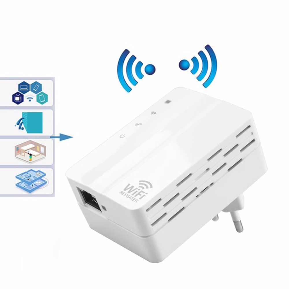 2.4ghz 300mbps Wifi Repeater Home Travel Wireless Router Signal Booster Extender Mini Pocket Size Signal Amplifier Eu Us Plug Curing Cough And Facilitating Expectoration And Relieving Hoarseness