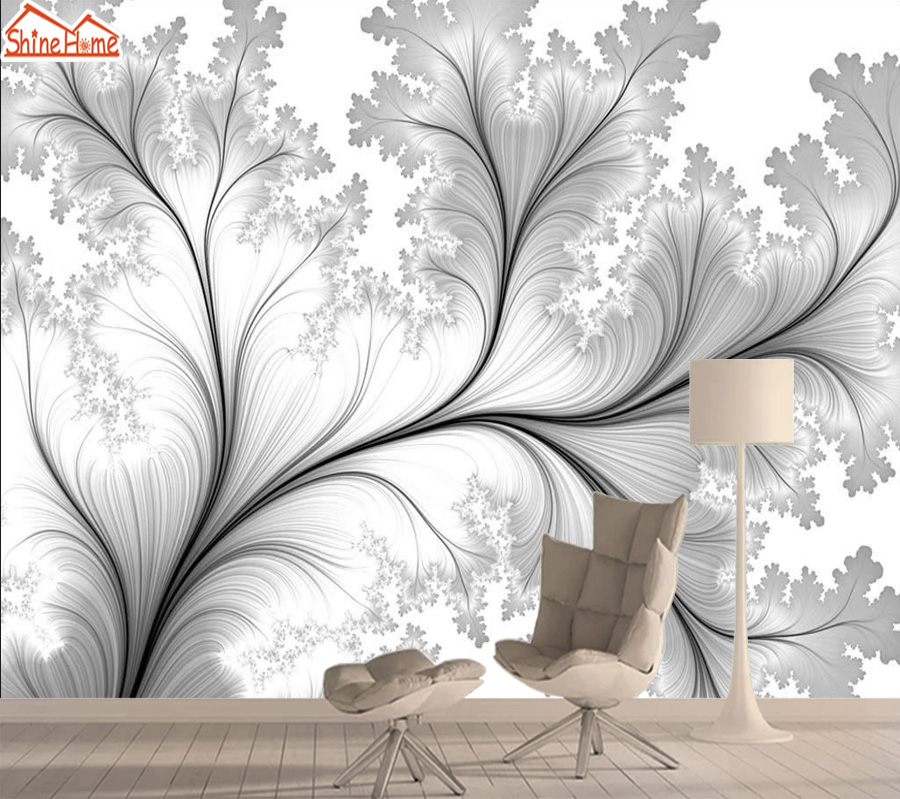 Wallpapers 3d Mural Wallpaper For Living Room Contact Wall Paper Papers Home Decor Self Adhesive Murals Walls Rolls Floral Tree