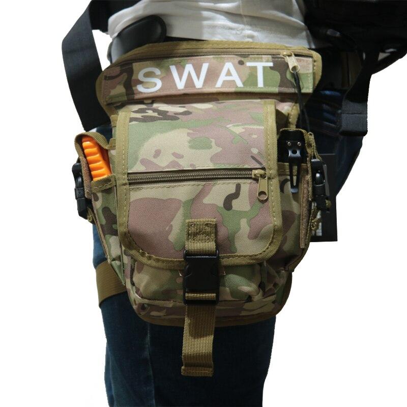 Spor ve Eğlence'ten Avcılık Çantaları'de TAK YIYING Açık Çok Fonksiyonlu Taktik bacak çantası SWAT Avcılık Aracı Bel Paketi Motosiklet Spor