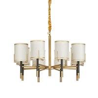 Modernas luzes pingente de luxo sala de estar sala de estar quarto Tecido abajur luz de suspensão Nordic Hotel sala de jantar luzes pendentes