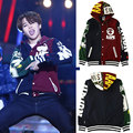 2016new Bts jimin should aid the sweatshirt baseball uniform lovers outerwear hoodies