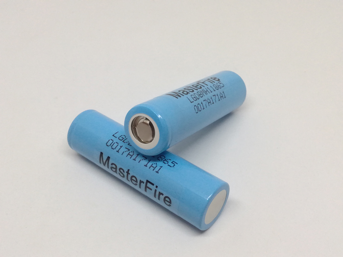 Wholesale 100pcs lot MasterFire High Drain Original LG MH1 INR18650MH1 18650 3200mah 3 7V 10A Rechargeable Battery Batteries in Rechargeable Batteries from Consumer Electronics