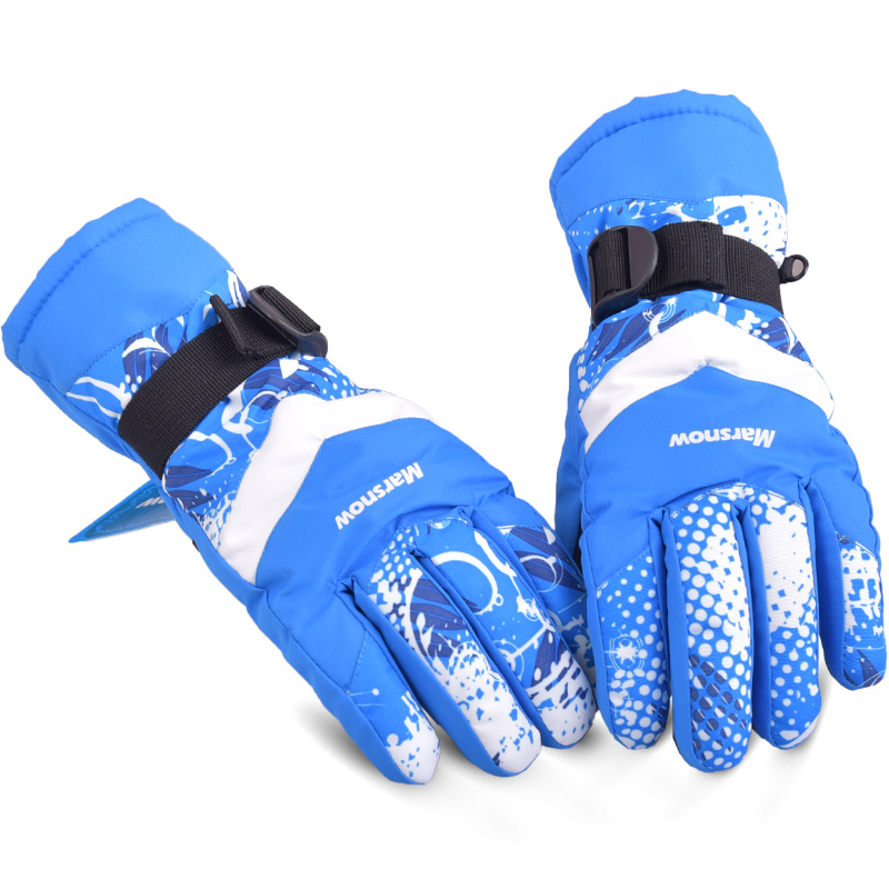 Winter Outdoor Sports Windproof Waterproof Keep Warm Snowboarding Riding Motorcycle Breathable Skiing Gloves