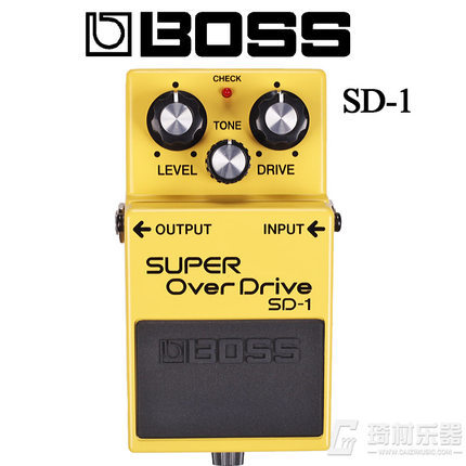 Boss Audio SD-1 Super Overdrive Pedal with Free Bonus Pedal Case