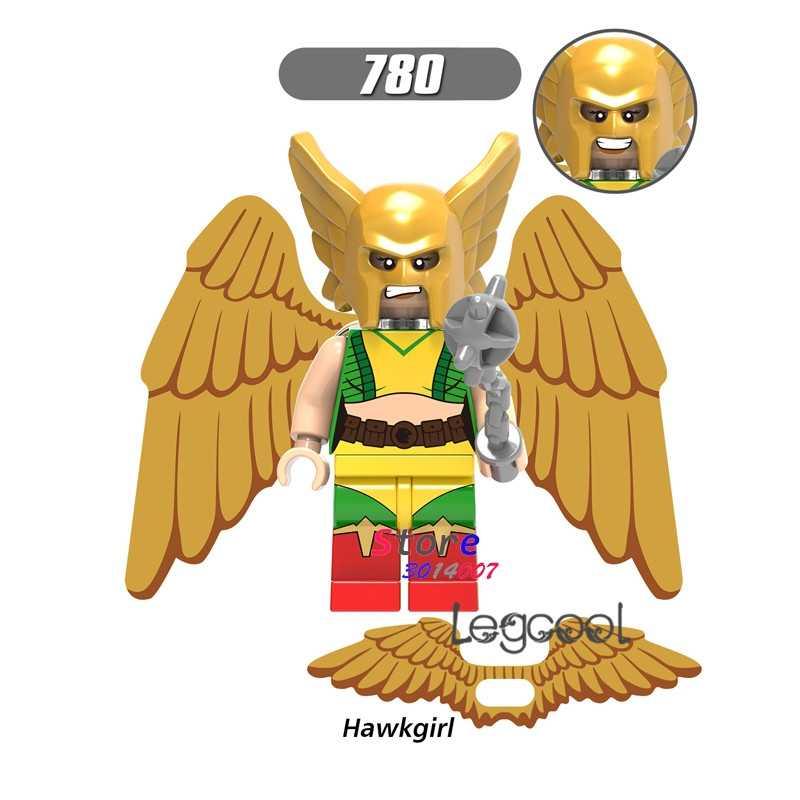 1 sztuk model klocki akcja superbohaterowie Hawkgirl kid dziewczyna dom gry dzieci diy zabawki dla dzieci prezent