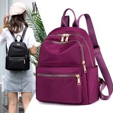 Купить с кэшбэком Shoulder Bag Female Backpack Women Canvas Fashion Leisure Wild Ms Travel Bags Young Girls