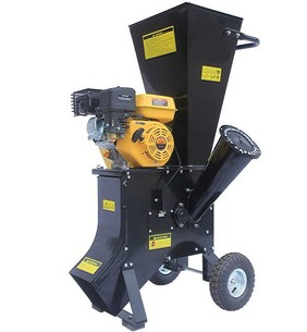 WCS-6.5HP Tailed Wood Chipper Shredder Machine