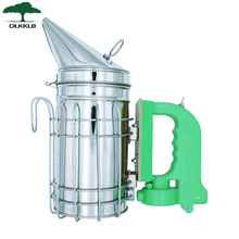 DLKKLB New Hot Sale Stainless Steel Module Electric Bee Smoke Transmitter Kit Electric Apiculture Beekeeping Tool Bee Smoker