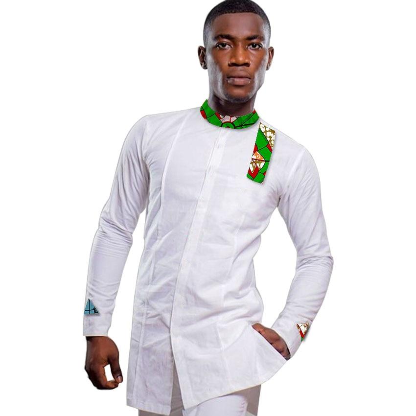 Ανδρικά αφρικανικά πουκάμισο - Εθνικά ρούχα - Φωτογραφία 5