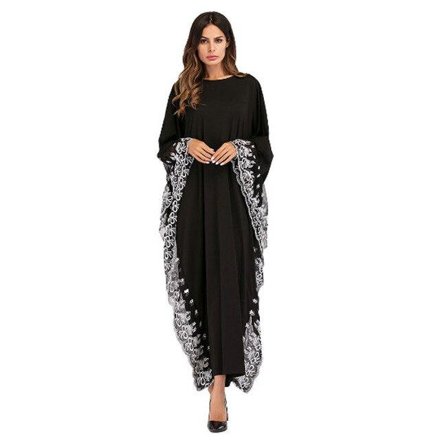 7c76456f5d6 Черные шифоновые платья с большим рукавом Anarkali