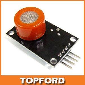 Free shipping MQ-3 Alcohol Ethanol Gas Sensor Module Breathalyser Checker Breath Detector Module #BV061
