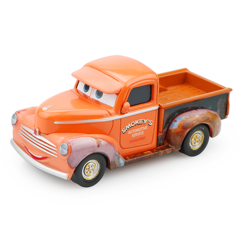 Disney Pixar Cars 3 New Role Smokeys Lightning McQueen Diecast Metal Car Model Childrens Day Best Gifts Toy For Boys Kids