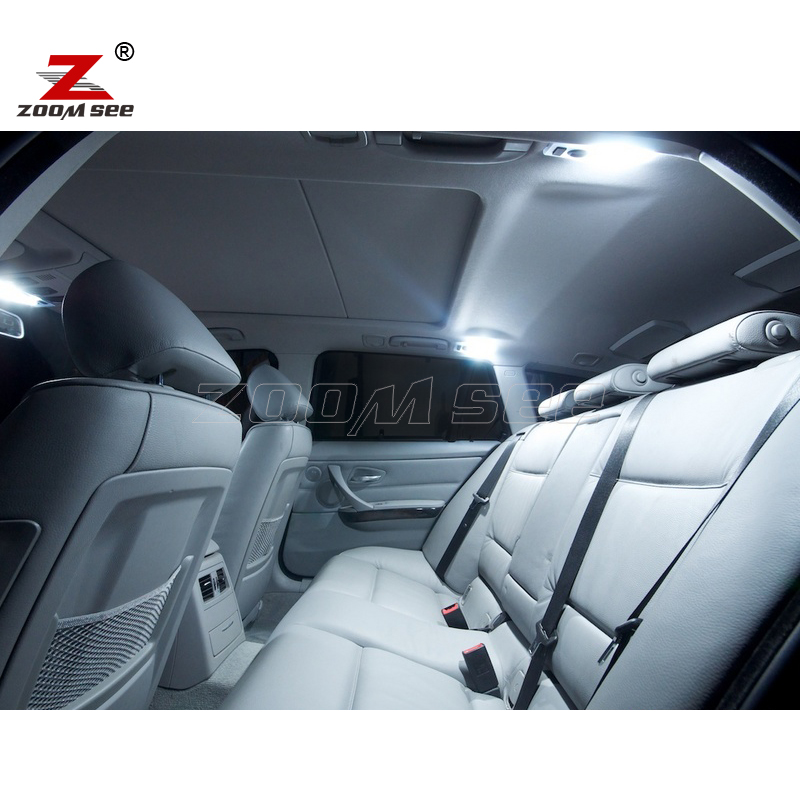 17 шт. светодиодный Лампа внутреннего освещения комплект для BMW 3 серии E91 318d 335d 320d xDrive 330xi 330i 318i 335i 335i xDrive 320i вагон-06-12