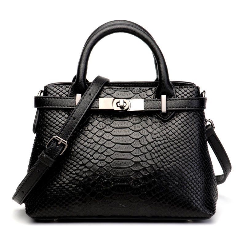Ladies new fashion leather crocodile pattern laptop shoulder bag Ladies new fashion leather crocodile pattern laptop shoulder ba luxurious crocodile pattern shoulder bag 100