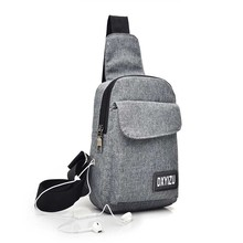 Stylish Casual Wear-Resistant Canvas Sling Bag