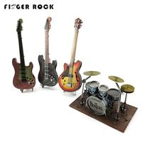 Finger Rock Metal 3d Puzzles DIY Metal Jigsaws Toys For Musical Instruments Color Limited Model Drum