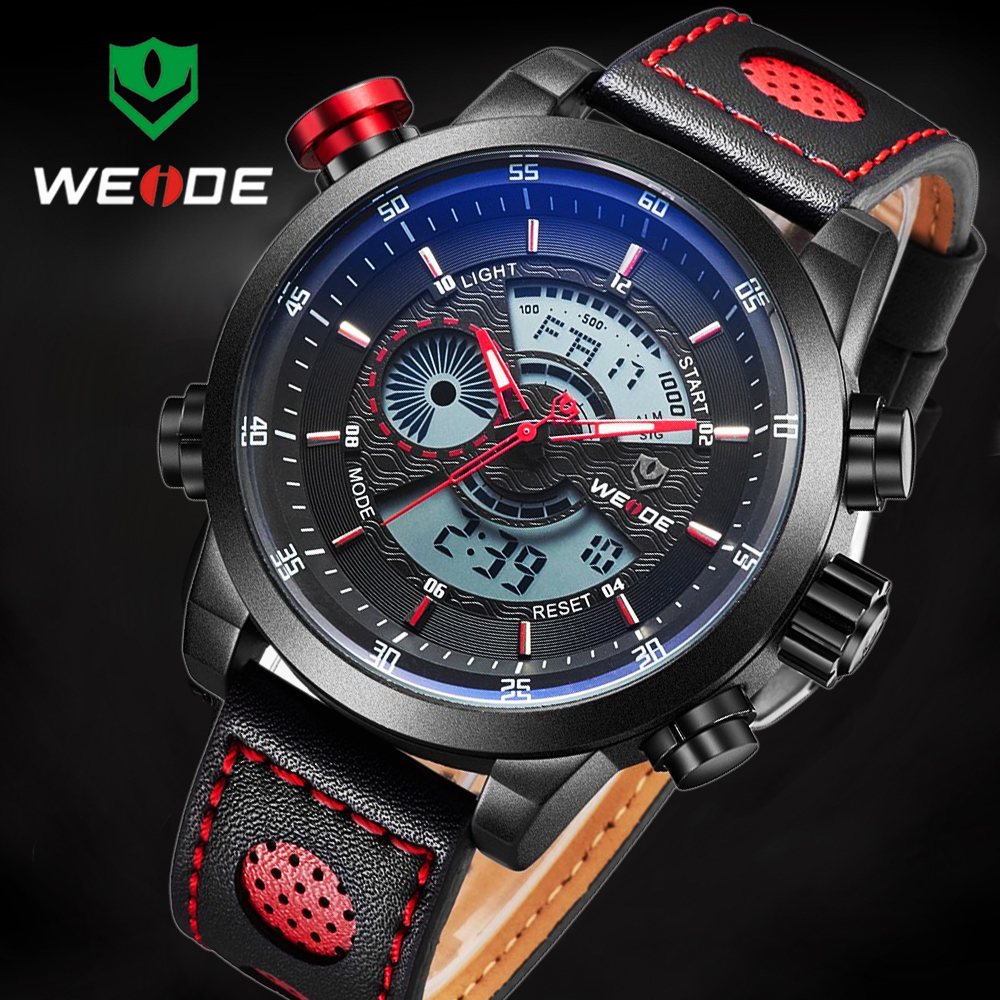 2016 Top Brand Relogio Masculino Men Sport Watch For Men Digital Analog Shock Watch Army Military