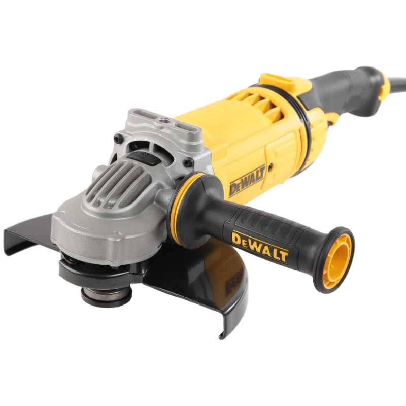 Machine grinding angle DeWalt DWE4559 (disc 230mm, power 2400 W, Active dust removal System) цена