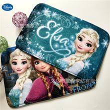 Children Cartoon Frozen mat 38x58cm Door mat Bathroom Mat kitchen Kids Boys Girls Crawling Game Mat Bedroom Carpet
