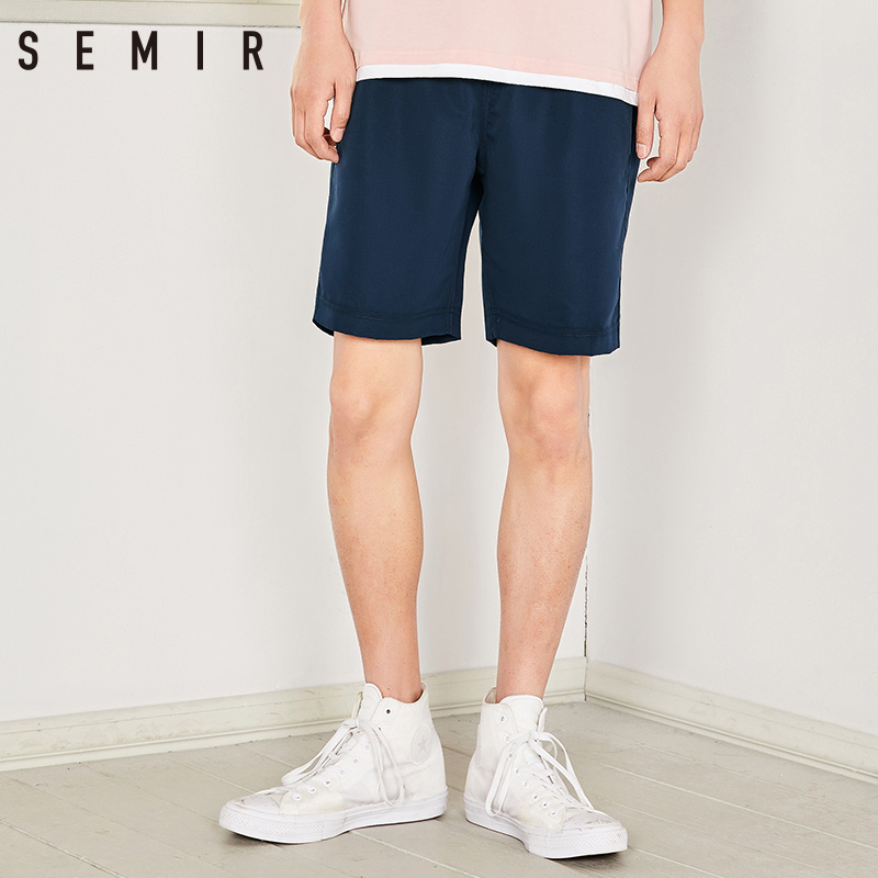 SEMIR Mens Short male new summer 2018 Knee Length Short man leisure Joggers shorts Wear fashion mens trousers