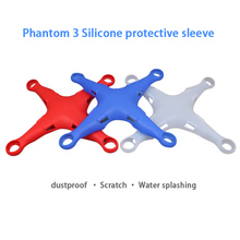 Phantom 3 body Protective Cover Silicone Dustproof Scratch-resistant Case for DJI