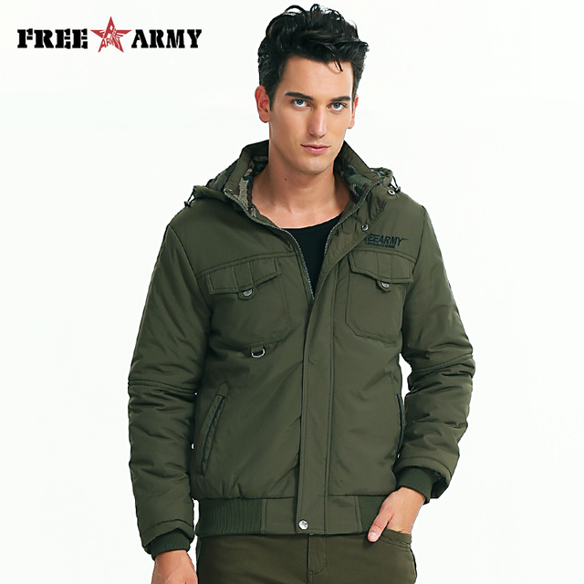 aa5fc3dd5c8 New Autumn Winter Brand Military Jacket High Quality Washing Cotton Plus  Army Size Green Men Casual Jacket Coat Pull MS-6315