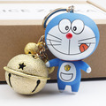 New Arrival Promotion Super Cute Smile Foodie Doraemon Tinker Bell Stylish Keychain For Bag Charm Accessory Animation Comic Fan