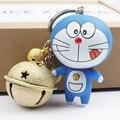 Nueva Promoción de La Llegada Super Lindo Sonrisa Foodie Estilo Campana del Chapucero Doraemon Llavero Del Encanto Del Bolso de Accesorios Animación Cómica Del Ventilador