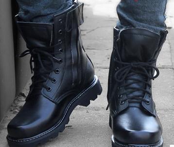 Hombres botas de cuero genuino botines de gamuza masculina zapatos casuales transpirable de alta calidad zapatos de tejido social