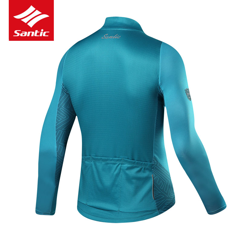 Santic Cycling Jersey Long Sleeve Men Mountain Road Bike Jersey Breathable  Anti sweat Bicycle Jersey Pro Sport Cycling Clothing-in Cycling Jerseys  from ... 5c851bf4e