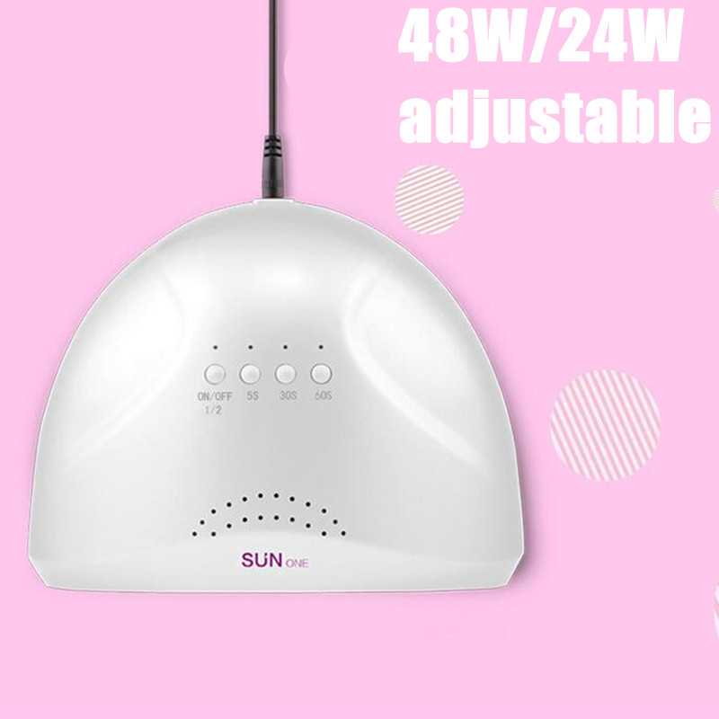 3pcs/lot Sunshine 48w uv led nail lamp for curing LED polish curing Dryer 48W Art UV Gel curing LED Nail light runail лампа uv led 48w