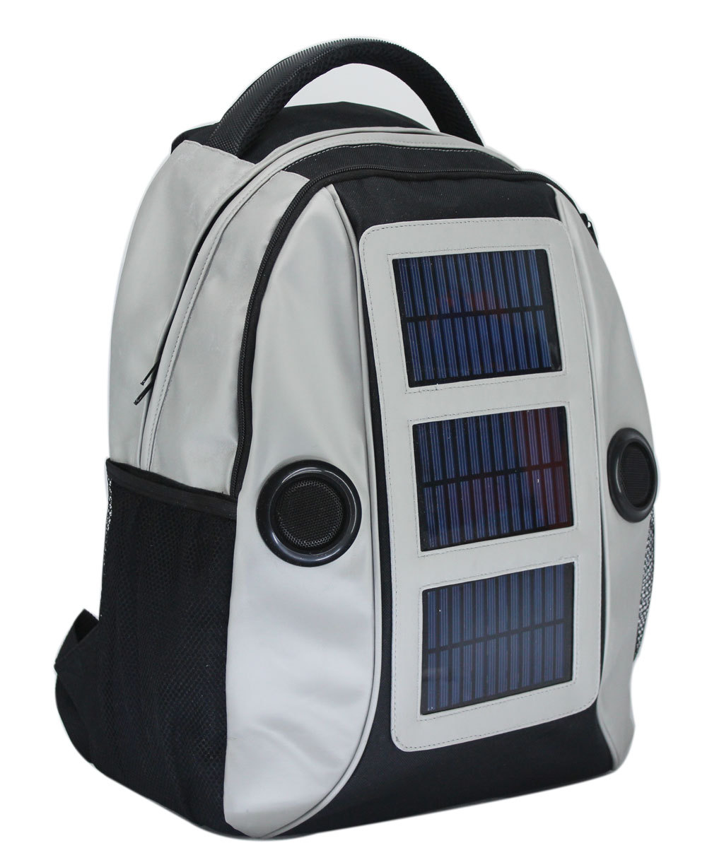 Latest Solar Power Music Bag with Solar Energy Speaker Backpack with  22000mah Battery Drop Shipping Available-in Backpacks from Luggage   Bags  on ... 059eb737d3c35