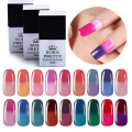 1 Bottle 10ml BORN PRETTY Temperature Color Changing Thermal Soak Off Nail UV Gel Polish 1-18