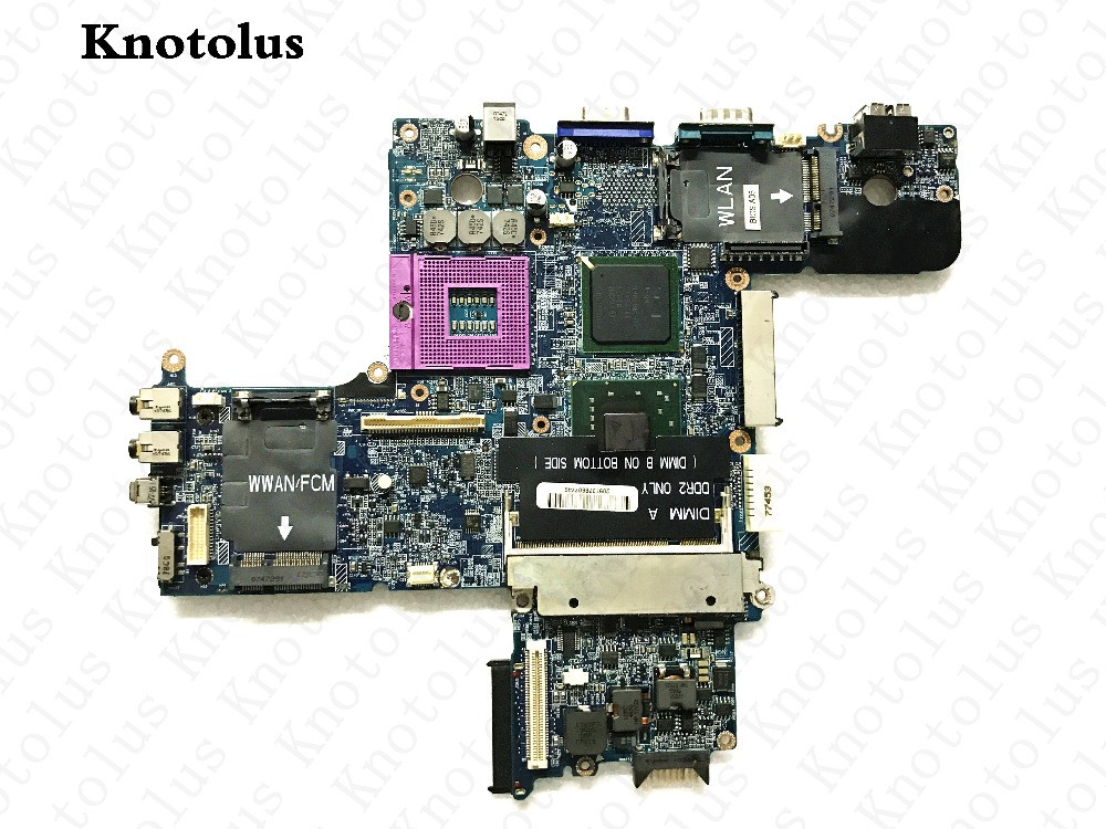 cn-0dt781 for dell d630 pp18l laptop motherboard la-3301p motherboard Free Shipping 100% test ok