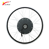 JS 48V 1000W Rear Electric Wheel Motor Fat Tire Use For Lithium Battery Brushless Gear Hub Motor Bicycle Generator For Ebike