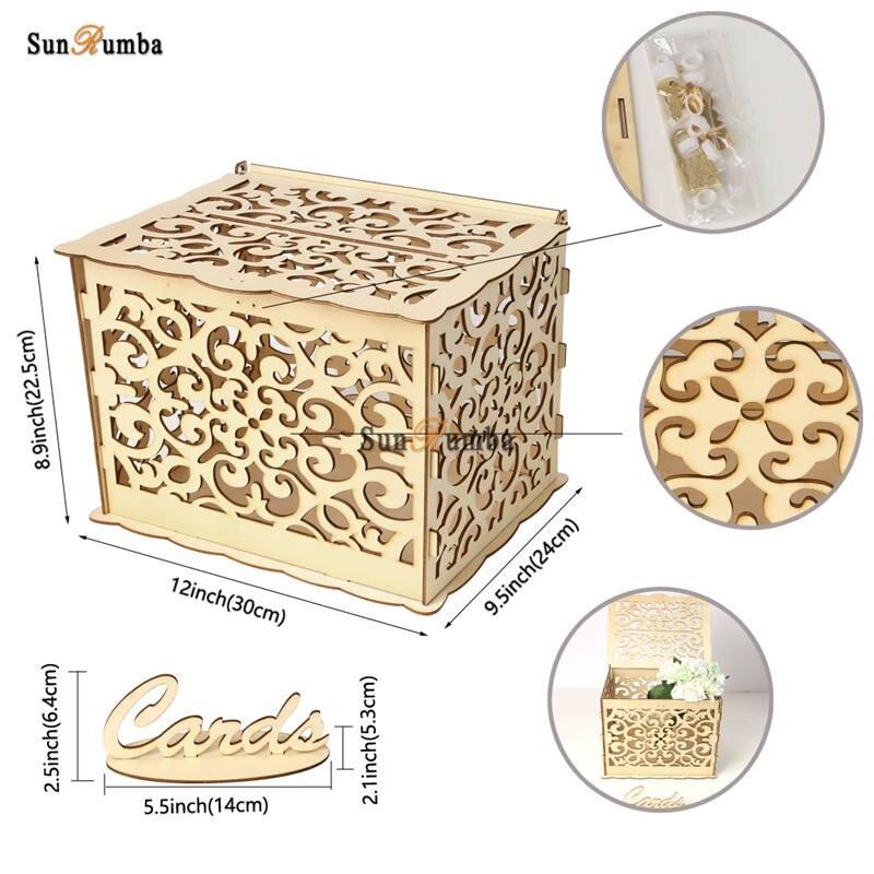 Wedding card box MUW-324-08