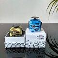 2017 Hot Sale 13 cores Novos Estilos de Camuflagem Fidget brinquedo Cubo Mágico Cubo mesa Fidget Anti irritabilidade Tédio para aliviar o estresse