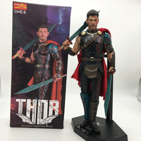 Crazy Toys Marvel Avengers Super Hero Thor with Swords PVC Action Figure Collectible For Kids Toys Gifts