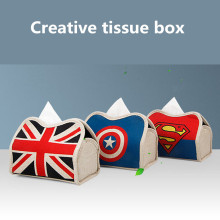 Linen Car Tissue Box Holder, 7 Styles Available!